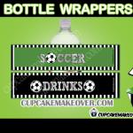 printable soccer team bottle labels