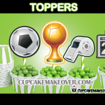 soccer toppers cake decor