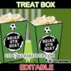 world cup soccer popcorn box treats