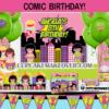 superhero girl comic book birthday package party supplies