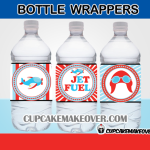 airplane bottle wrappers