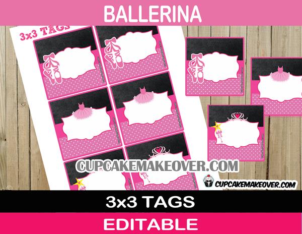 ballerina editable labels