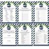 green navy nautical sail boat baby shower games printable