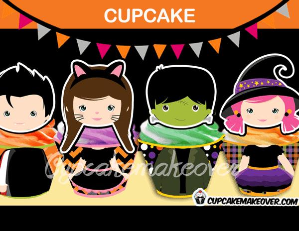 halloween cupcake decorations designs