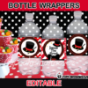 editable magic bottle wrappers
