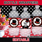 editable magic bottle wrappers