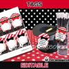 editable magic gift tags