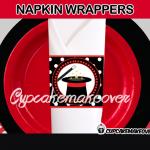 printable magic napkin rings