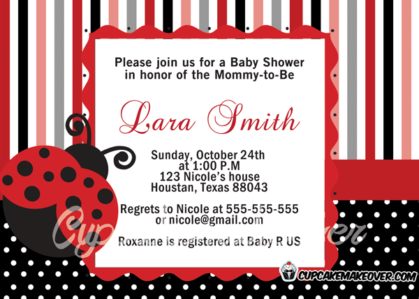 buy ladybug baby shower party supplies