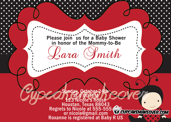 buy modern baby shower invitation card