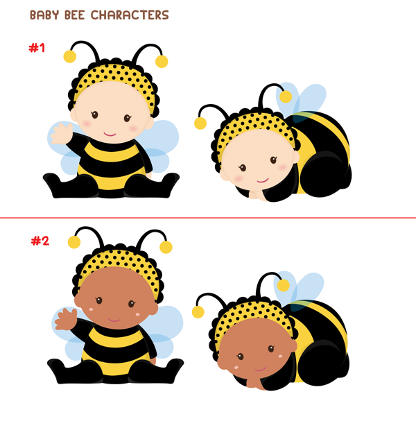 Baby Bee Characters Decoration Ideas