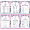 pink navy nautical sail boat baby shower games printable
