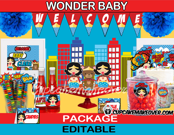 133-Wonder-Mom-Baby-Shower-Girl-shower-package