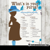 boy blue cowgirl baby shower games western theme