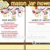 printable gender neutral mason jar yellow themed baby shower games