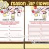 yellow mason jar baby shower decorations gender neutral