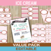 ice cream themed birthday party ideas