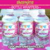Shopkins party personalized bottle labels