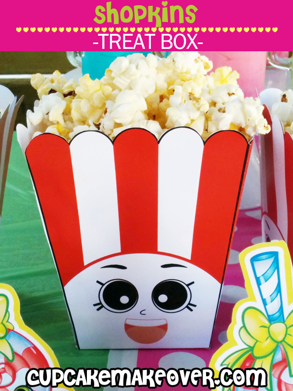 printable shopkins popcorn boxes party supplies