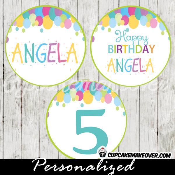 printable art bubbles birthday invitations rainbow colors
