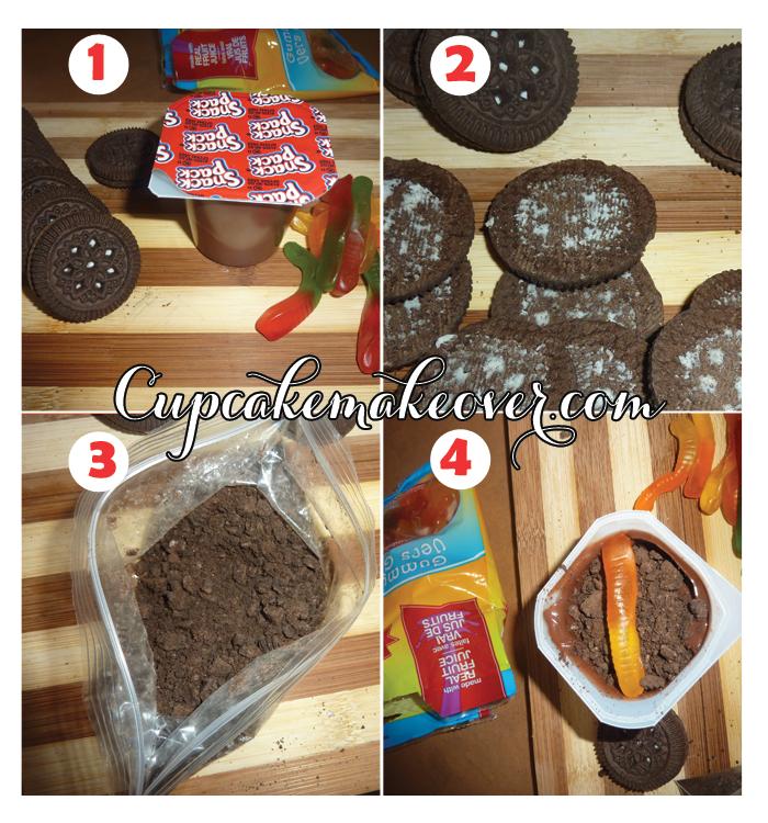 how to dirt dessert pudding recipe