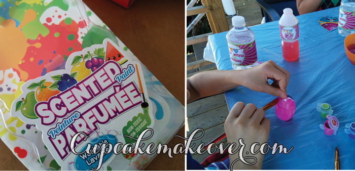 googy egg painting shopkins party