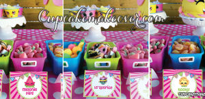 Printable Shopkins food tents