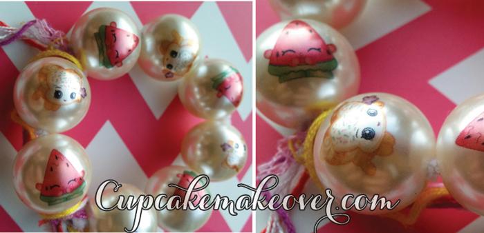shopkins birthday necklace beads