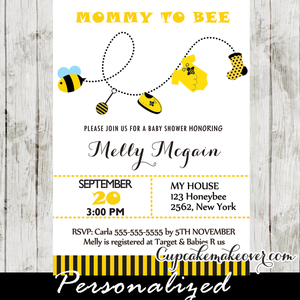 printable mommy to be baby shower invitations