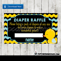 165-Chalkboard-Yellow-Blue-Rubber-Duck-Diaper-Raffle-Tickets