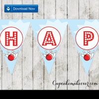 printable happy birthday bowling banner flags personalized