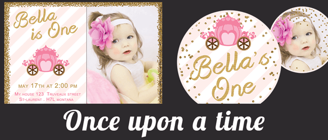 once upon a time princess party supplies