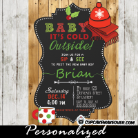 sip n see invitations christmas holidays baby shower ideas