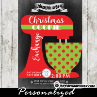 holiday cookie exchange invitations