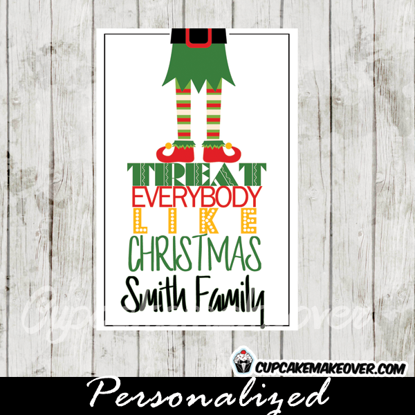 printable gift tags christmas elf
