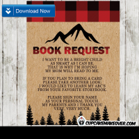 lumberjack baby shower book request buffalo plaid invitation insert