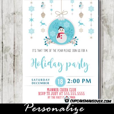 company christmas party invitations