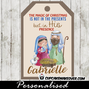 printable christmas tags holy family nativity scene