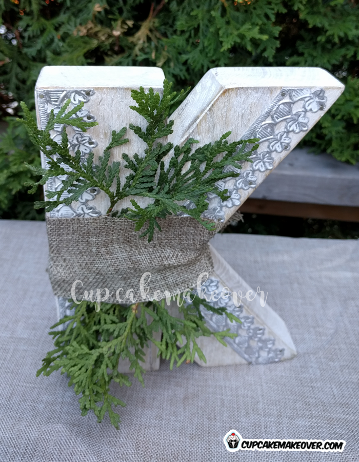 woodland party decorations burlap cedar cuts