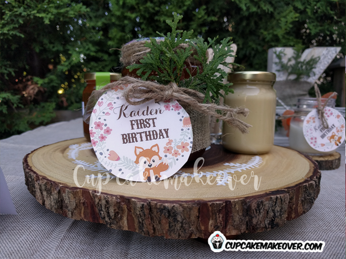 woodland creatures party favors decorations