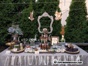 Kaiden's Woodland Themed Birthday Party