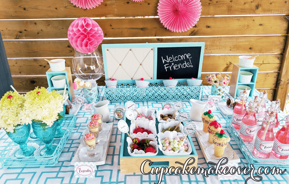 ice cream birthday party supplies ideas social