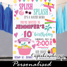 pool party archives cupcakemakeover