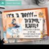 elephant halloween diaper raffle tickets fall ideas