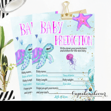 under the sea girl turtle baby shower games