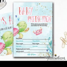 ocean theme under the sea baby shower girl games