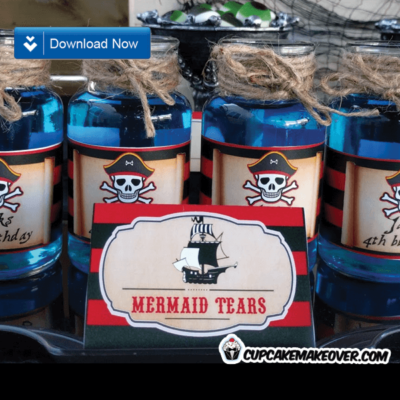 pirate party food ideas mermaid tears