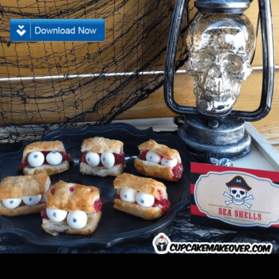 pirate party food ideas sea shells
