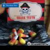 pirate party food ideas shark teeth