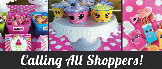 Shopkins birthday party supplies